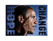 Barack Obama: Hope, Change (8.25 x 11in) Art Print