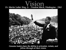 Vision (24 x 36in) Motivational Art Print
