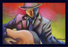 Guitar Man Magnet
