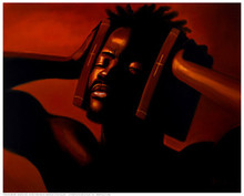 Hear No Evil (male) Art Print (11 x 14in) - Sterling Brown