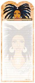 Nubian Queen Note Pad & Pen Set