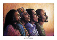 Men of Vision Art Print - Monica Stewart