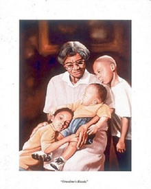 Grandma's Hands Art Print - Tim Hinton