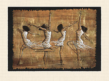 Rejoice! (35 x 26) Art Print - Monica Stewart