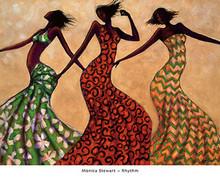 Rhythm Art Print - Monica Stewart