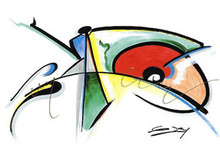 Color of Blues Art Print - Gerald Ivey