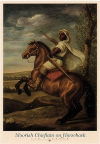 Moorish Chieftain Art Print by Tim Ashkar
