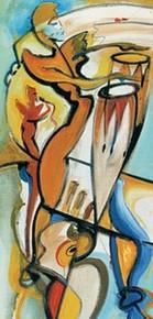 Bongo Rhythm Art Print - Alfred Gockel