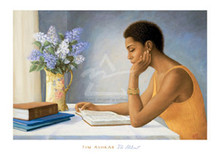The Student  Art Print - Tim Ashkar
