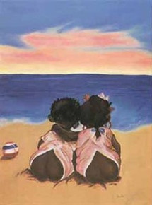 Heart to Heart Art Print - Jamille