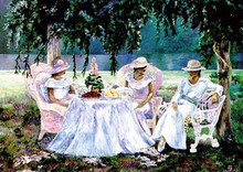 Afternoon Tea II Art Print 18 x 24in - Consuelo Gamboa