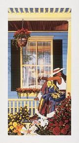 Grandma's Visitor Art Print - Gigi Boldon