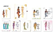 Jewel Box Assorted Note Cards By Cidne Wallace