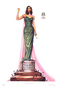 Twenty Pearls (12x18) - Alpha Kappa Alpha Art Print - Kevin A. Williams - WAK