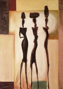 Island Ladies II--A. Gockel