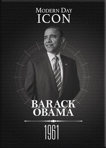 Black History Series: Barack Obama  Magnet