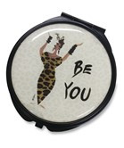 Be You Pocket Mirror Case--Cidne Wallace