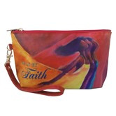 Walk by Faith Cosmetic Pouches--Kerream Jones