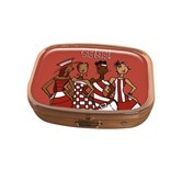 Red Sistas! Pill Box Case-Kiwi McDowell