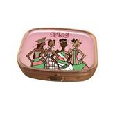 Pink Sistas! Pill Box Case-Kiwi McDowell
