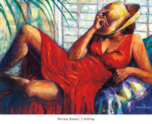 """Chilling"" --Monica Stewart"