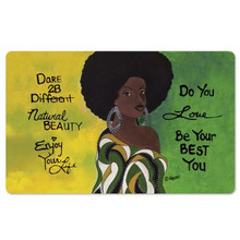 "Dare 2B Different  Interior Floor Mats, Sylvia ""GBaby"" Cohen"