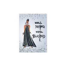 Well Dressed, Well Blessed Magnet-- Cidne Wallace