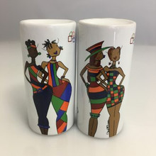 It's a Sista Thang  Salt & Pepper Shakers --Kiwi McDowell,
