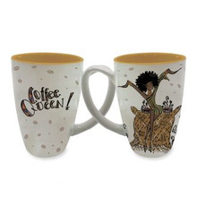 Coffee Queen!  Latte Mugs--Kiwi McDowell