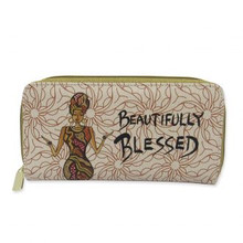 Beautifully Blessed Long Wallet-- Cidne Wallace