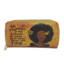 "Soul On Fire Long Wallet--Sylvia ""GBaby"" Cohen"