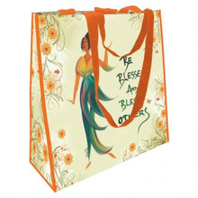 Be Blessed And Bless Others  ECO Shopping Bags--	Cidne Wallace