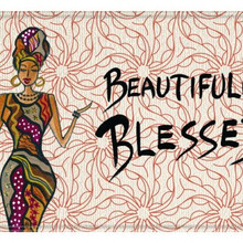 Beautifully Blessed Memory Foam Floor Mat --Cidne Wallace