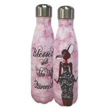 Blessed And Sho Nuff Favored Stainless Steel Bottles-Kiwi McDowell