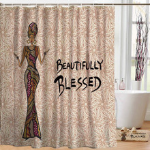 Beautifully Blessed Designer Shower Curtains --Cidne Wallace