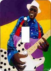 Buddy Guy Single Light Switch Cover--Dane Tilghman