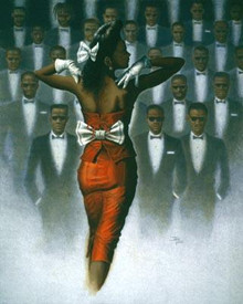 Eyes On The Prize Art Print-- Jay Bakari