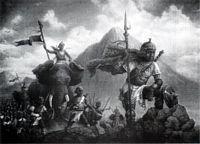Hannibal The Great  Art Print-- JC Bakari