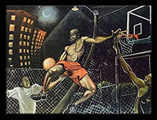 Midnight Slammin (Basketball) Art Print--Tracy Andrews