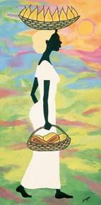 Papayas and Pears I Art Print--Debbie Cooper