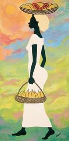 Papayas and Pears II Art Print--Debbie Cooper