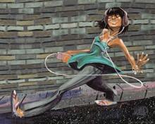 Afternoon Urban Stroll  Art Print (16 x 20)-- David Garibaldi