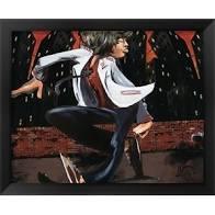 SOHO Hipster Swag  Art Print(16 x 20)-- David Garibaldi