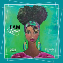 "I Am 2020 African American Wall Calendar--Sylvia""GBaby""Cohen"