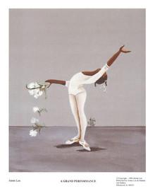 A Grand Performance Art Print - Annie Lee