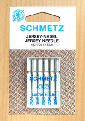 Schmetz Ball Point Jersey sewing machine needles 130/705 H SUK