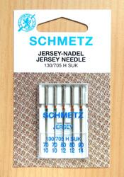 Schmetz Ball Point Jersey sewing machine needles 130/705 H SUK