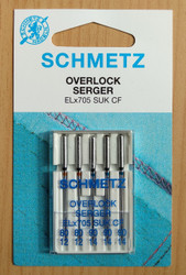 Schmetz Elna Overlocker Household Needles (EL X 705 CF)