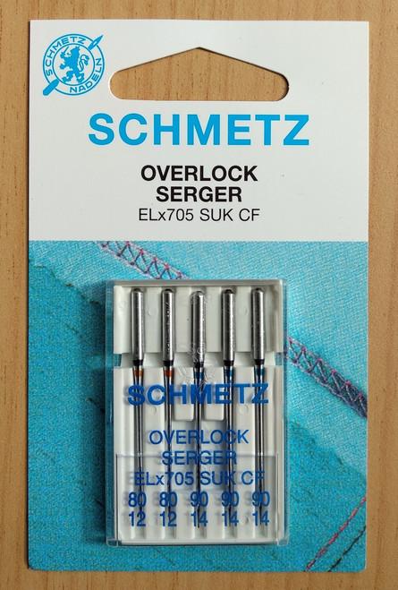 Schmetz Elna Overlocker Household Needles (EL X 705 CF)