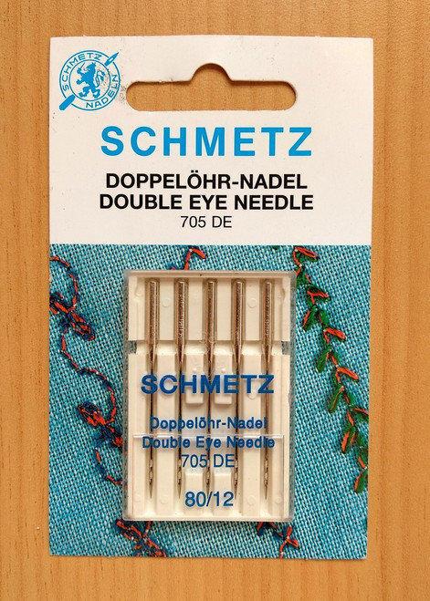 Schmetz Double Sewing Machine Needles